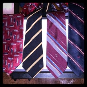 Dior ties x 4 package